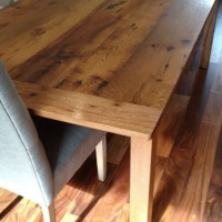 This Table Was Handcrafted According To Customer Specifications. He Can  Also Made A Table For You. Our Gallery Of Reclaimed Wood Furniture Displays  The ...